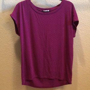 lovely purple caslon short sleeve tee!